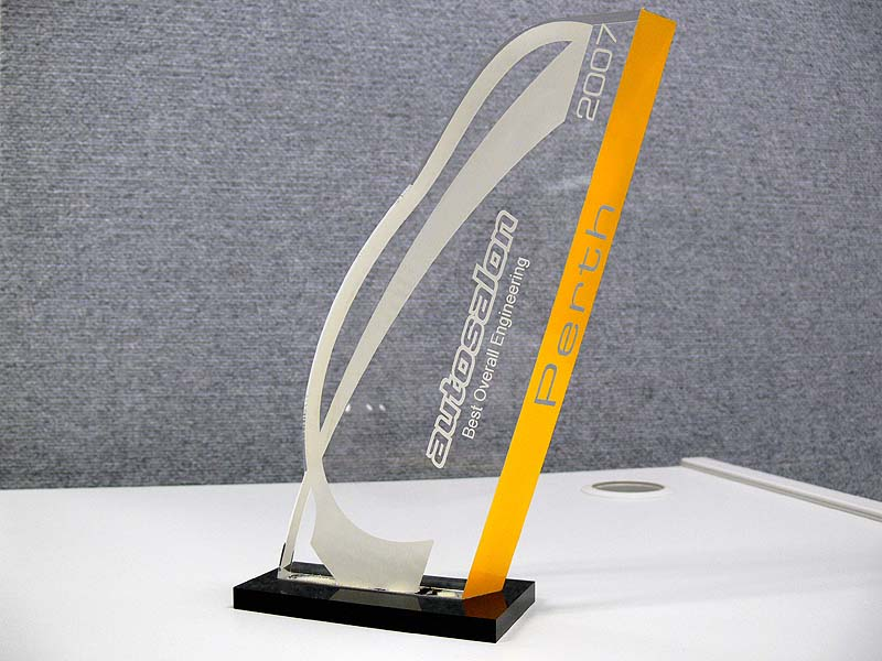 Perth Autosalon 2007 - Best Overall Engineering trophy