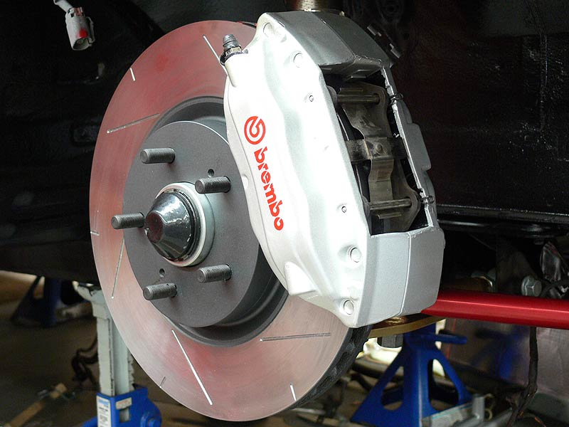 Front R33 GT-R Brembo's, DBA Rotors on S13 Silvia