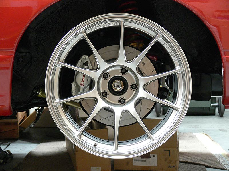 Rear Brembo's on Silvia