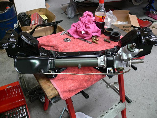 Engine Crossmember and Power Steering Rack (S15)