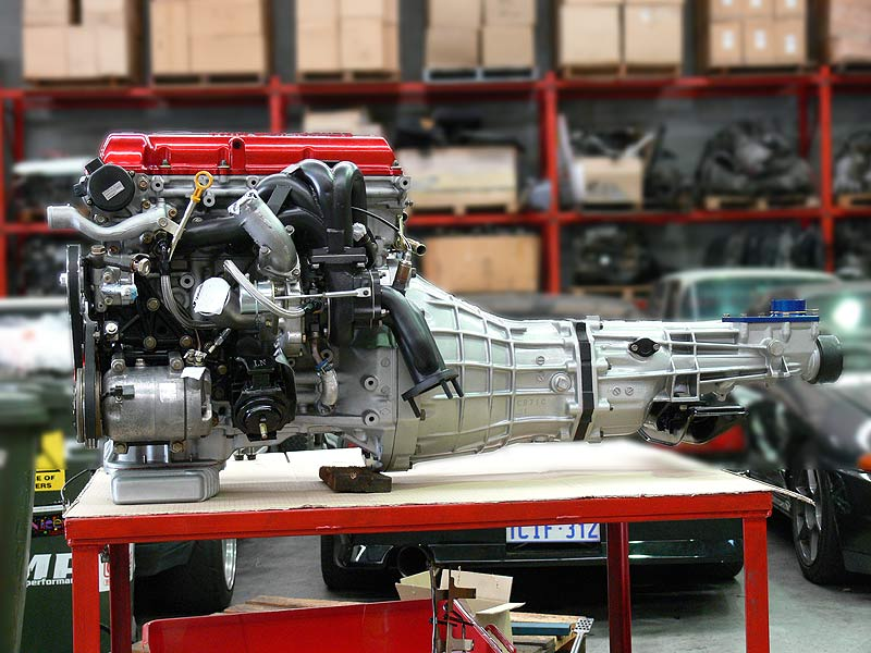 Engine and Gearbox meet