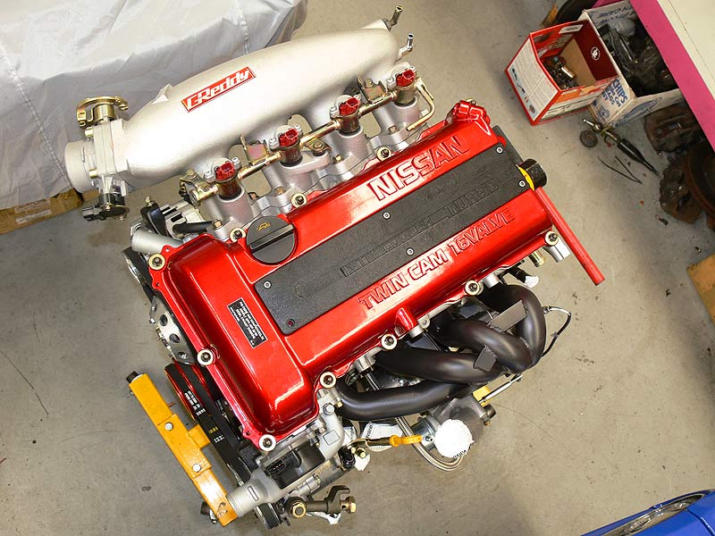Sillbeer's SR20DET from the top