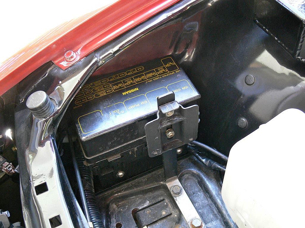Relocated Fusebox in S13 Silvia