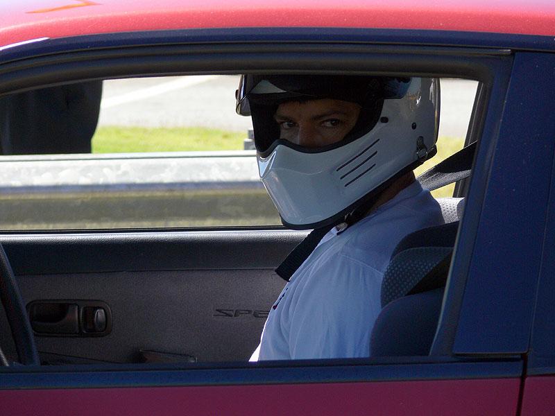 Got my race face on