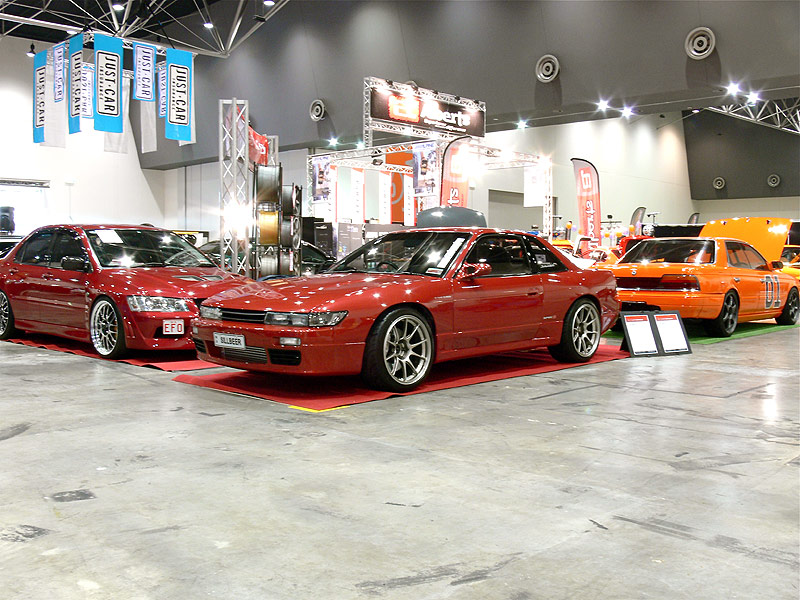 Sillbeer on the C-Red Stand at Perth Autosalon 2008
