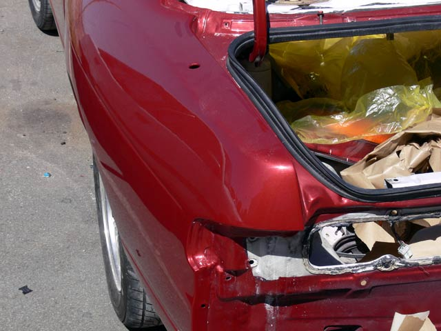 Rear Quarter Panel