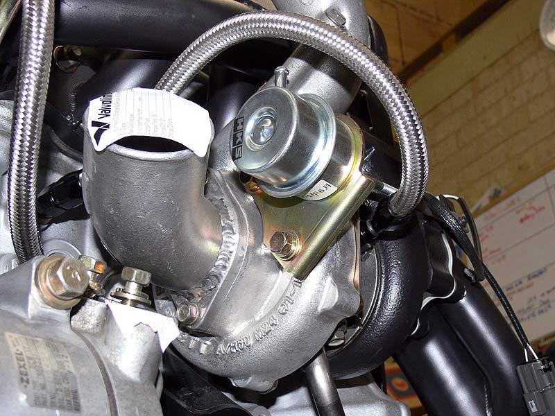 HKS GT-RS Compressor Inlet/Outlet