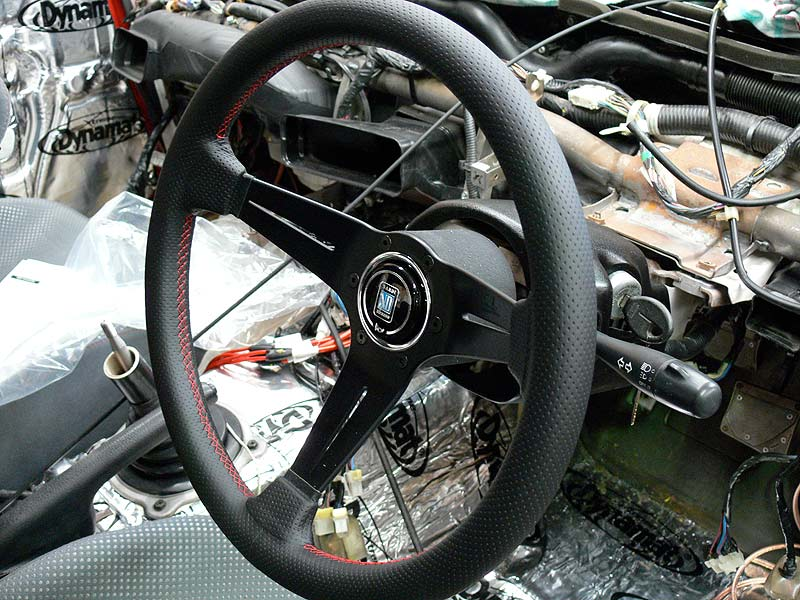Nardi Deep Corn steering wheel