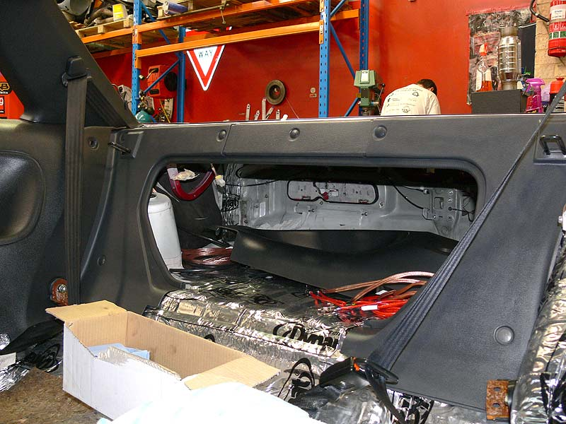 S13 Rear Interior Trim