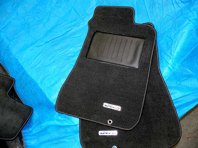 New Floormats with specB logo