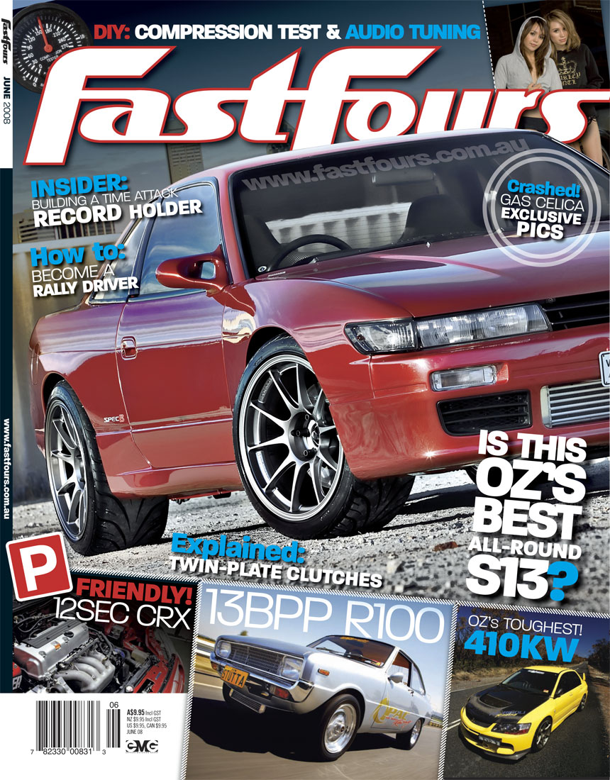 Fast Fours June 2008 SILLBEER Cover