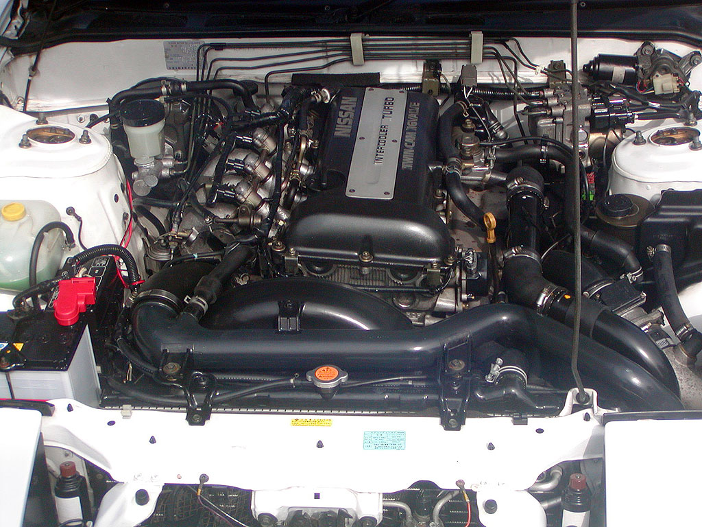 Nissan 180SX Type-X Engine Bay