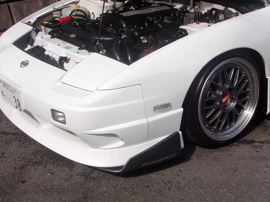 Nissan 180SX Type-X Front/Side