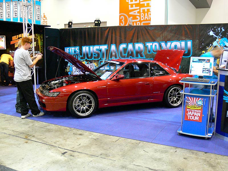 SILLBEER on the Just Car Insurance stand at Perth Autosalon 2010