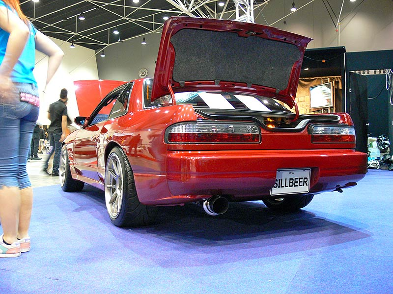 SILLBEER from the rear at Perth Autosalon 2010