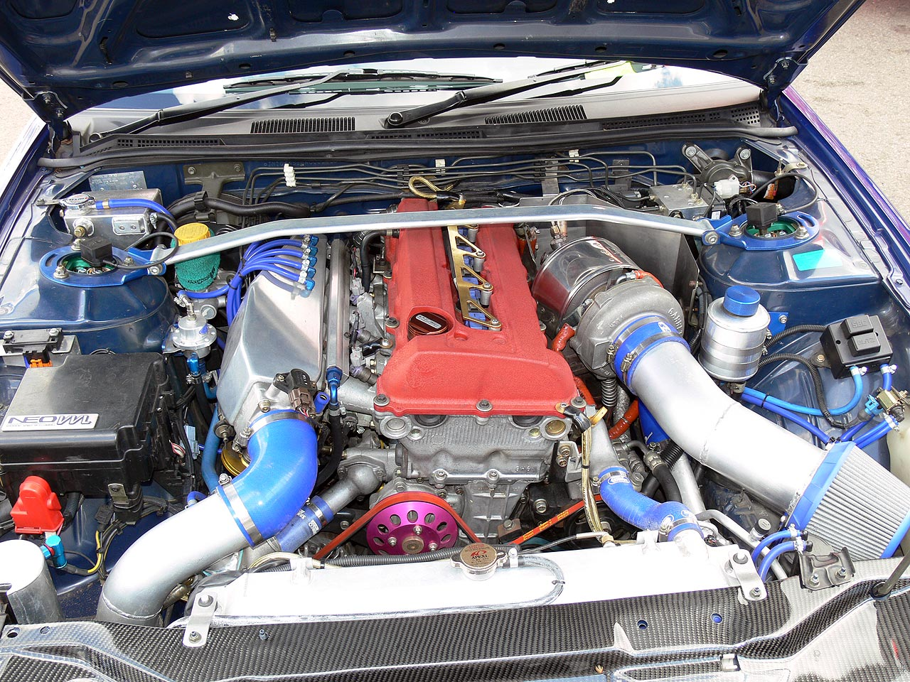 Nissan SR20 Engine with VET Head Conversion