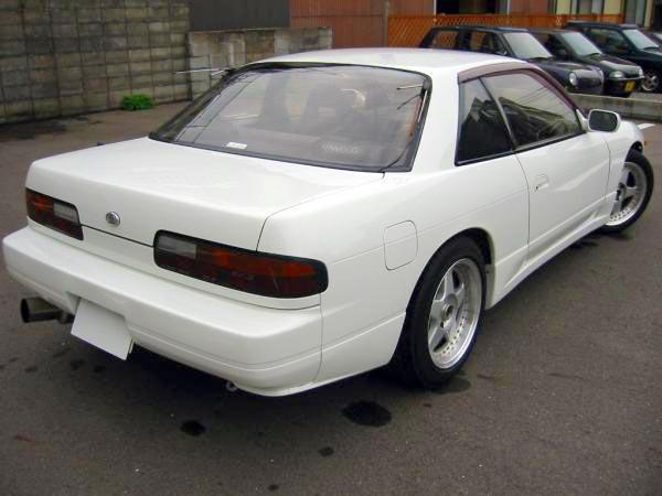 S13 Silvia Nissan Aero (Nismo) kit - rear pods and side skirts