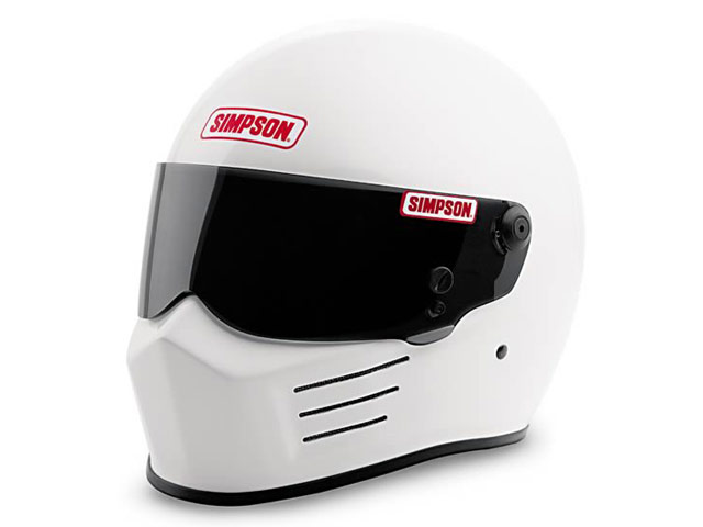 Simpson Bandit Helmet in White
