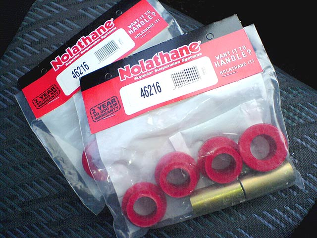 Nolathane Rear (inner) Lower Control Arm Bushes (Part# 46216)
