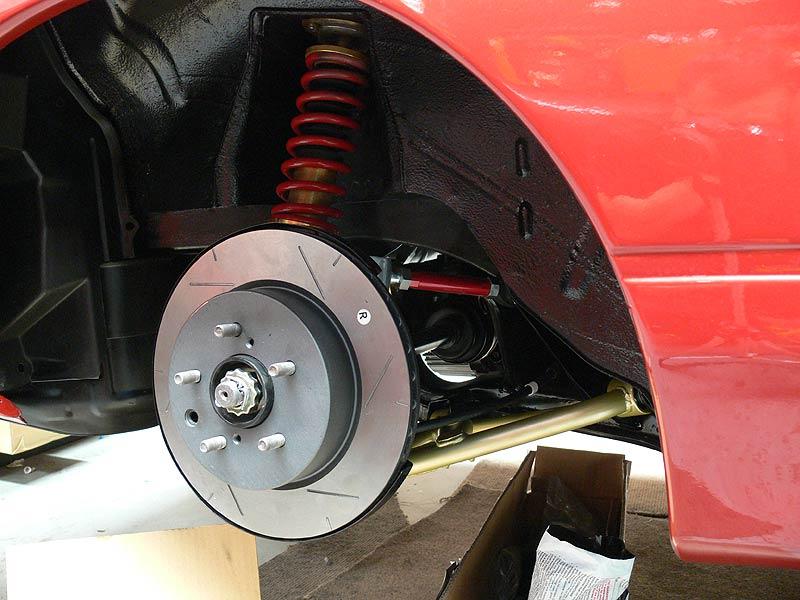 S13 Silvia Rear Suspension complete